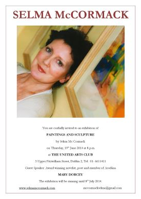 United Arts Club exhibition poster 2014